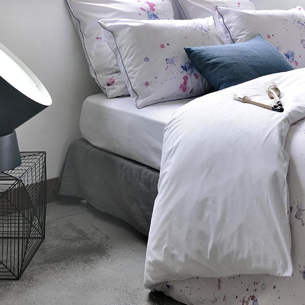 drap-housse-arty Percale de coton 80 fils/cm²
